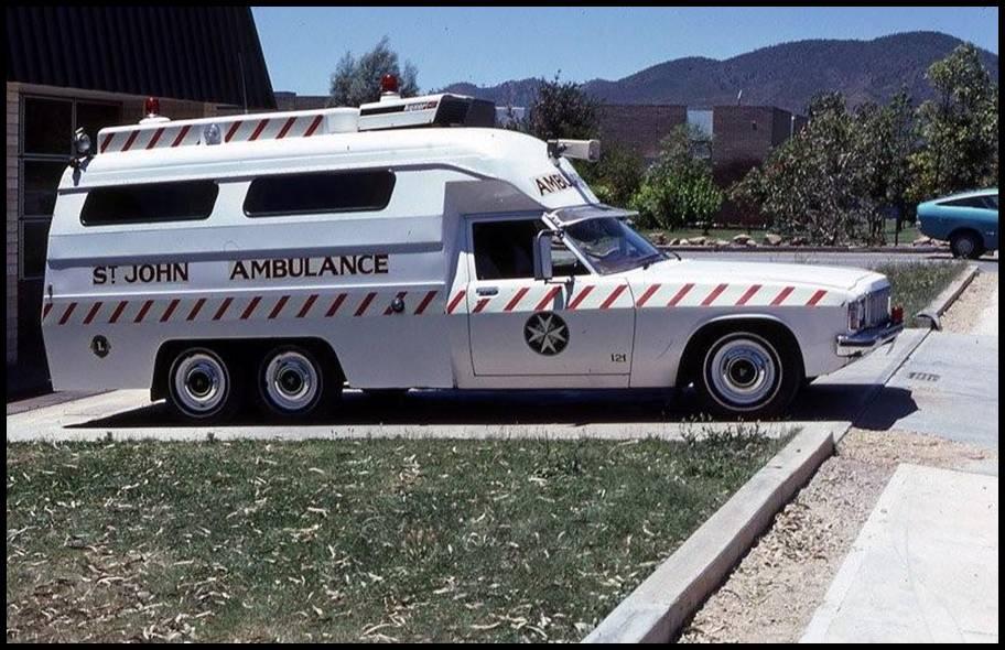 Holden Em-Care Six-Wheeled Ambulances