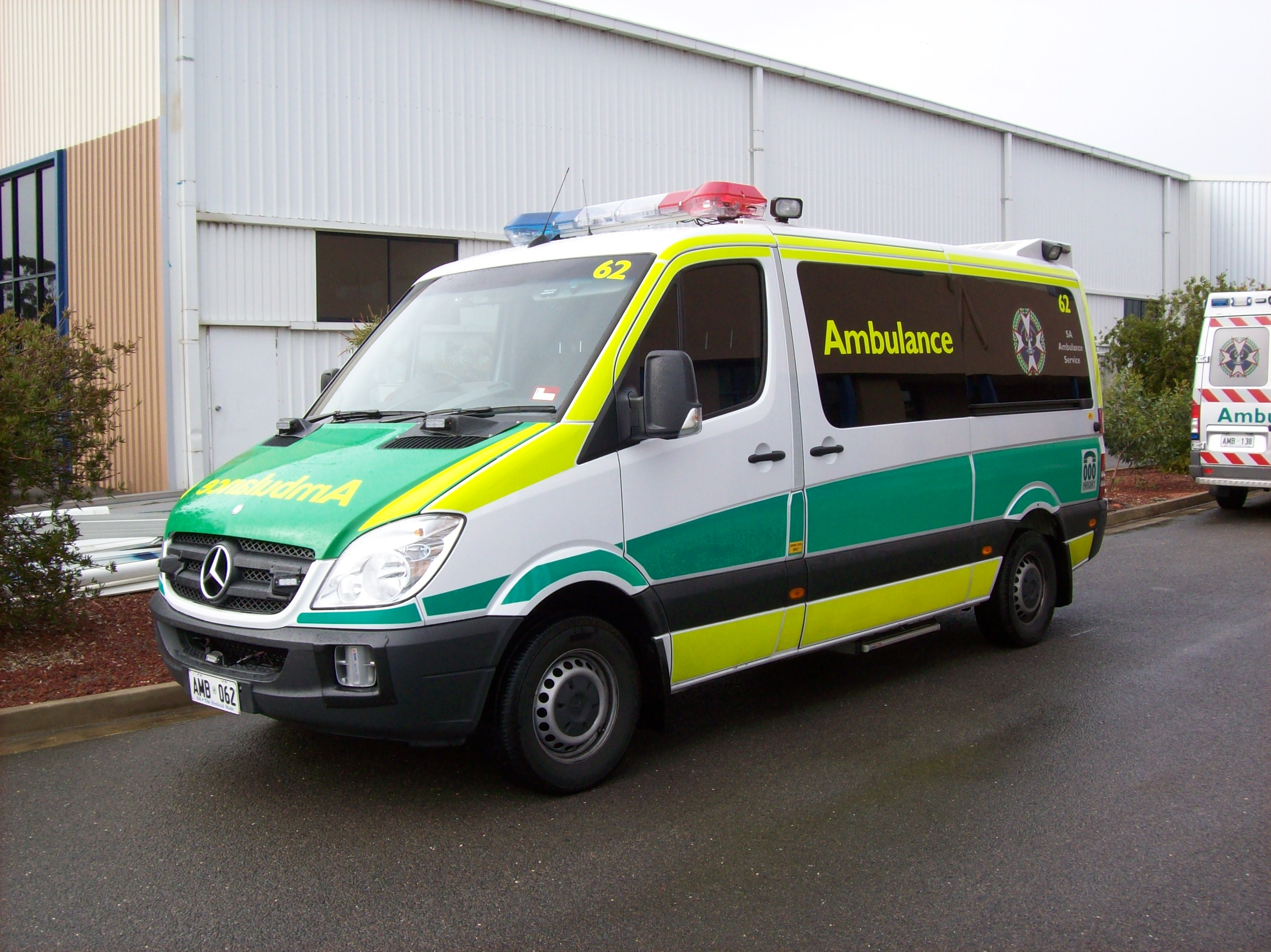Twin-Life ambulances were